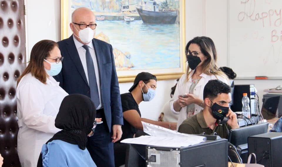 وزير الصحة يؤدي زيارة ميدانية للمرصد الوطني للأمراض الجديدة و المستجدة