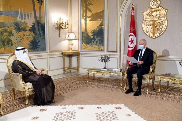 رئيس الجمهورية يتلقى دعوة لزيارة الكويت