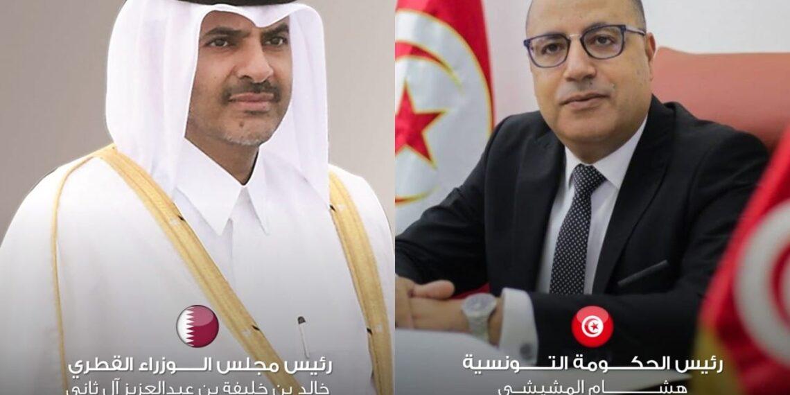 تطوير التعاون المشترك محور مكالمة هاتفية بين رئيس الحكومة ورئيس مجلس الوزراء القطري