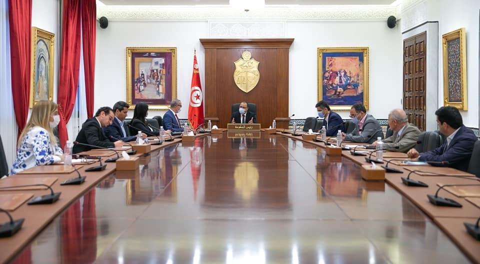المشيشي يجتمع بممثلي الأحزاب والكتل النيابية الداعمة للحكومة