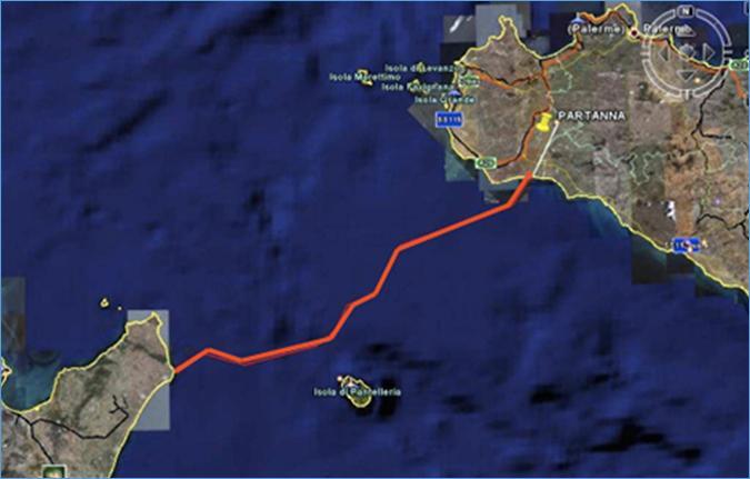 موعد دخول مشروع الربط الكهربائي بين تونس وإيطاليا حيز الاستغلال