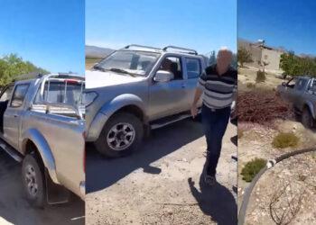القصرين : حجز السيارة الادارية التي استعملها رئيس بلدية جدليان خلال محاولته دهس شقيقه