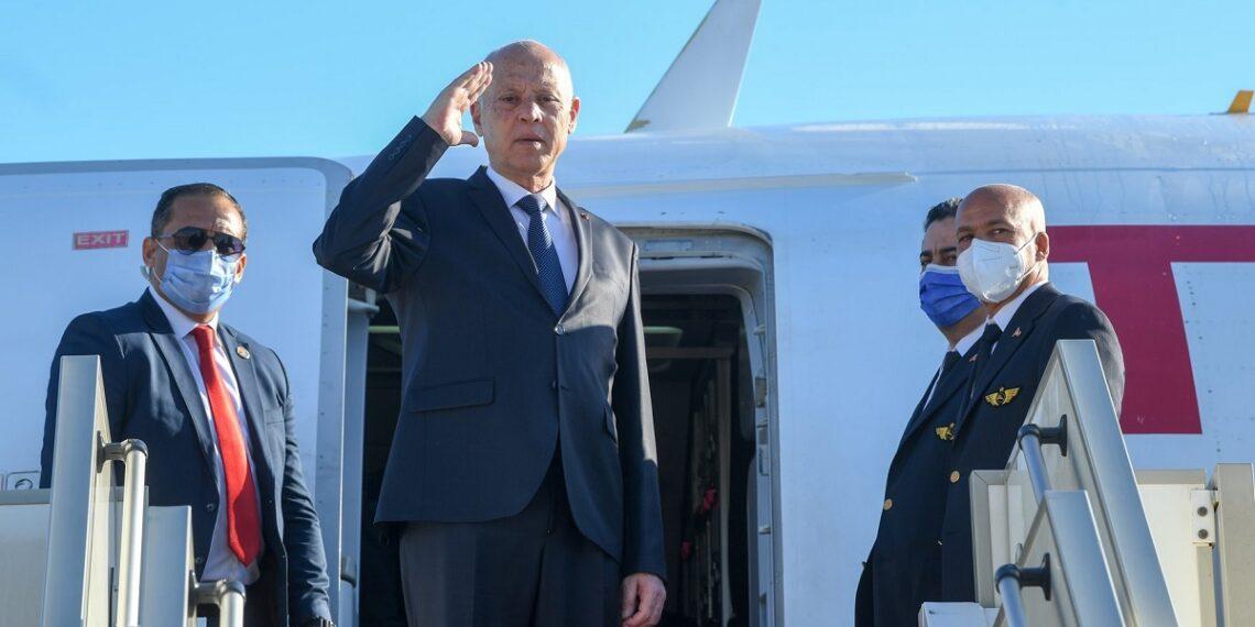 رئيس الجمهورية يغادر تونس في زيارة رسمية إلى إيطاليا