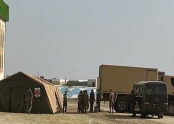 وصول معدات المستشفى الميداني العسكري إلى القيروان