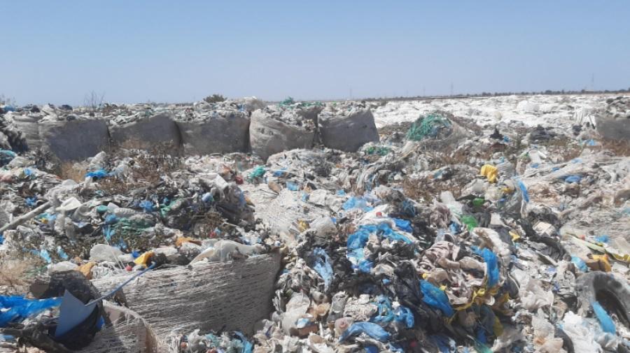 غلق مصب النفايات بمنطقة سدويكش بجربة ميدون