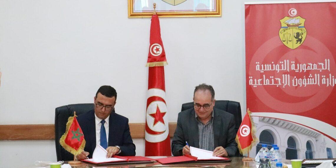 توقيع مذكرة تفاهم بين تونس والمملكة المغربية