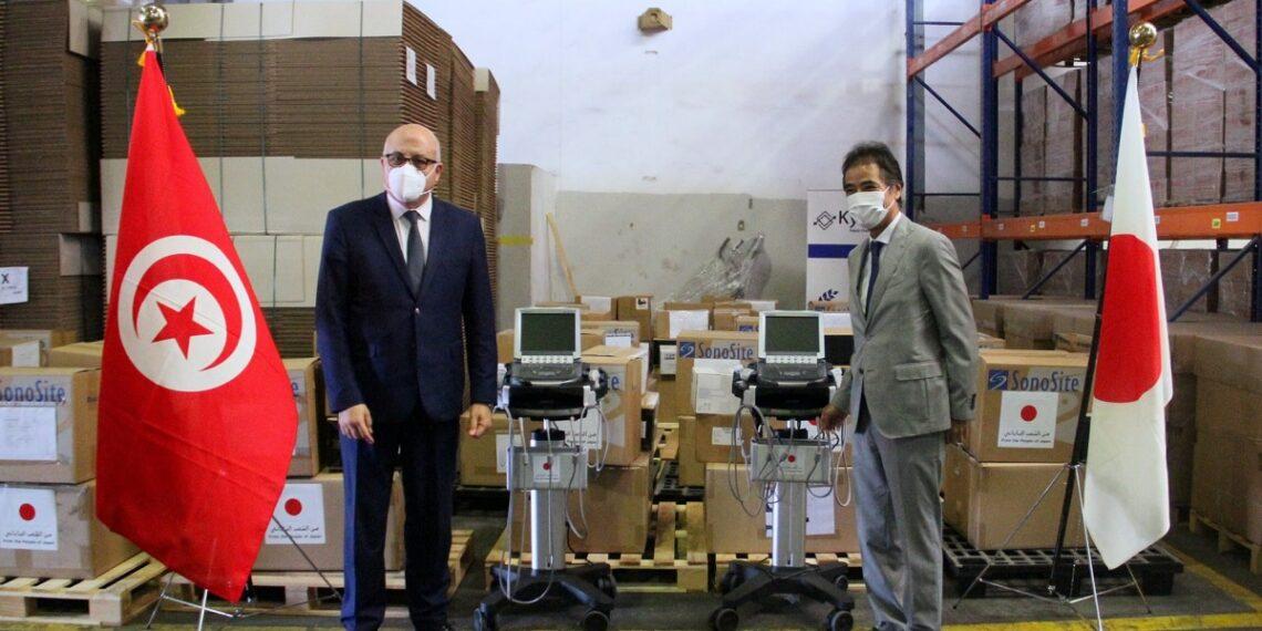 تونس تتسلم معدات طبية يابانية لفائدة المؤسسات الصحية العمومية