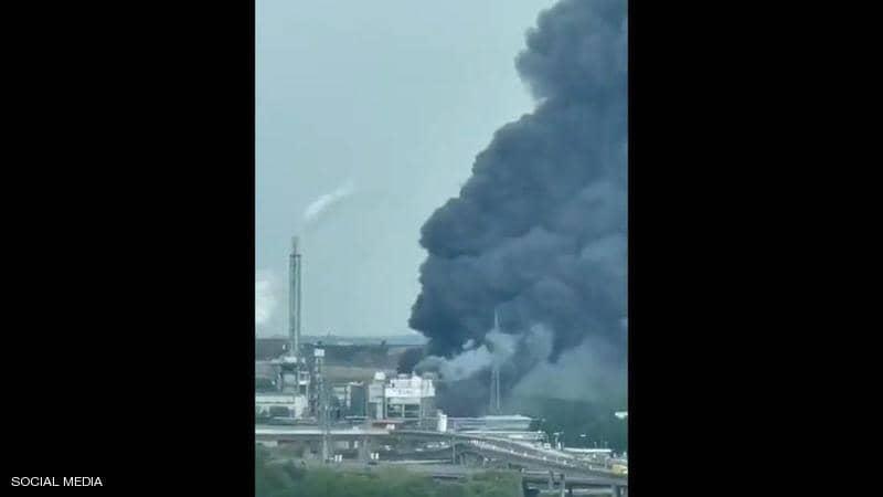 انفجار هائل بمصنع للمواد الكيمياوية في ألمانيا