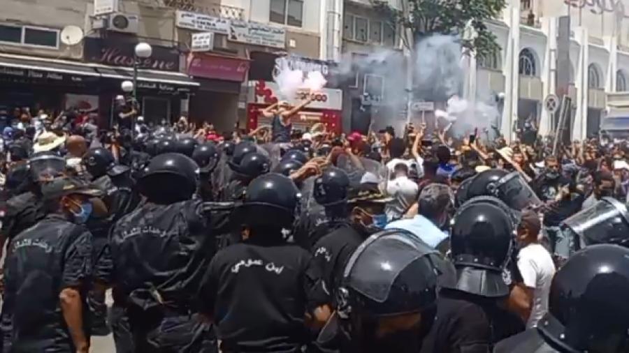 باردو: مناوشات بين الأمن ومحتجّين