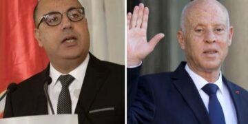 قيس سعيّد يعفي رئيس الحكومة