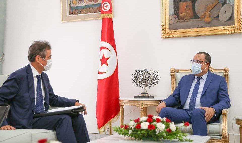 سفير اليابان يؤكد دعم بلاده لتونس في حربها ضد الوباء
