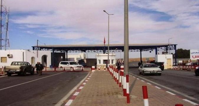بسبب كورونا ..ليبيا تقرر غلق معبر الحدودي ذهيبة وازن