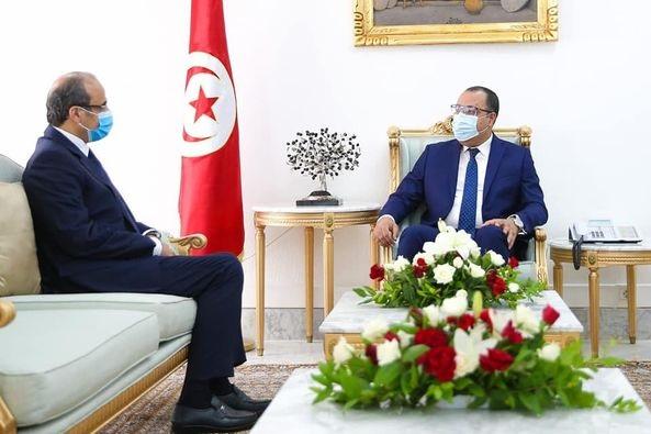 السفير السعودي خلال لقائه المشيشي: حريصون على مزيد دعم تونس في هذا الظرف الصعب