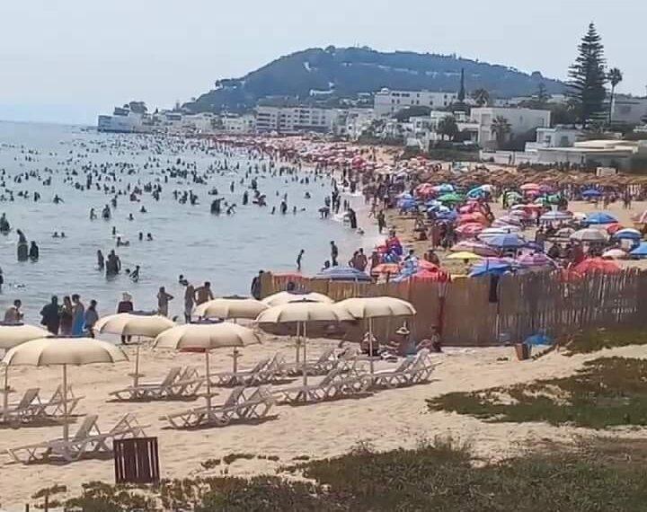 رئيس بلدية المرسى: 70 بالمائة من المصطافين احترموا اجرءات التباعد على الشاطئ