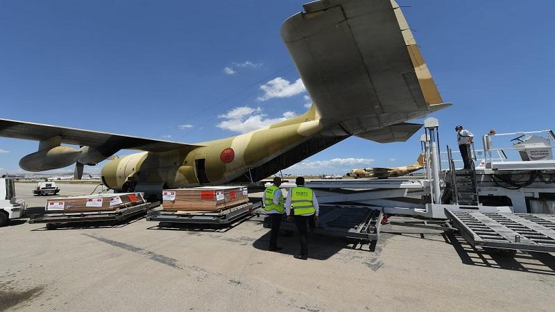 وصول 3 طائرات مغربية إلى تونس محمّلة بتجهيزات لتركيز مستشفى ميداني