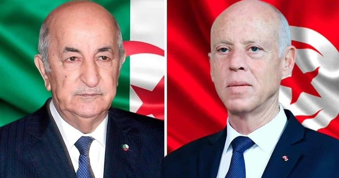 """سعيّد في اتصال بتبّون: """"لن ننسى ما قدمته الجزائر من دعم لتونس"""""""