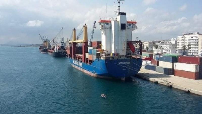 ميناء بنزرت ـ منزل بورقيبة يحتل المرتبة الأولى وطنيا في حجم المبادلات التجارية