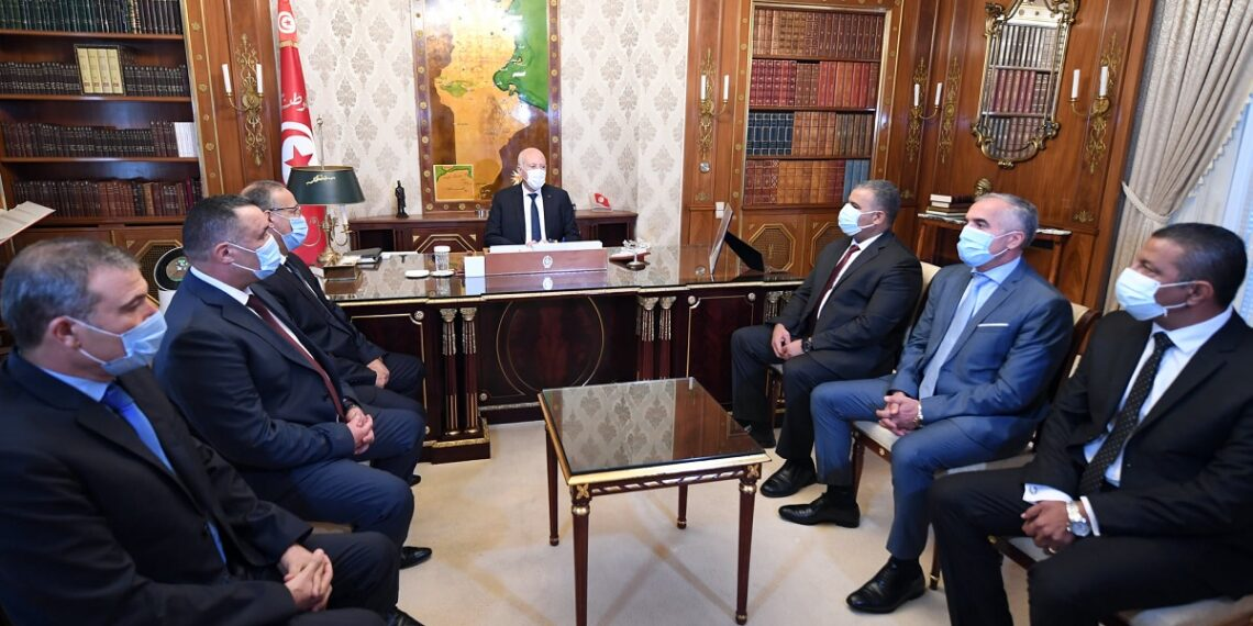 قيس سعيد يقر تعيينات جديدة صلب وزارة الداخلية