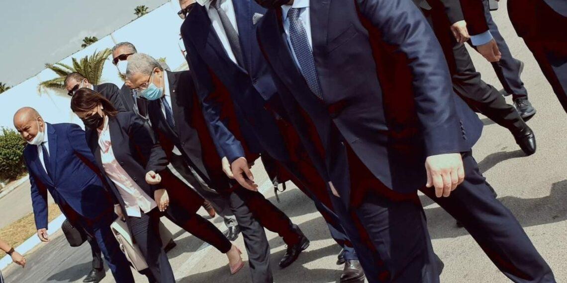 وزيرا خارجية وداخلية ليبيا يصلان تونس
