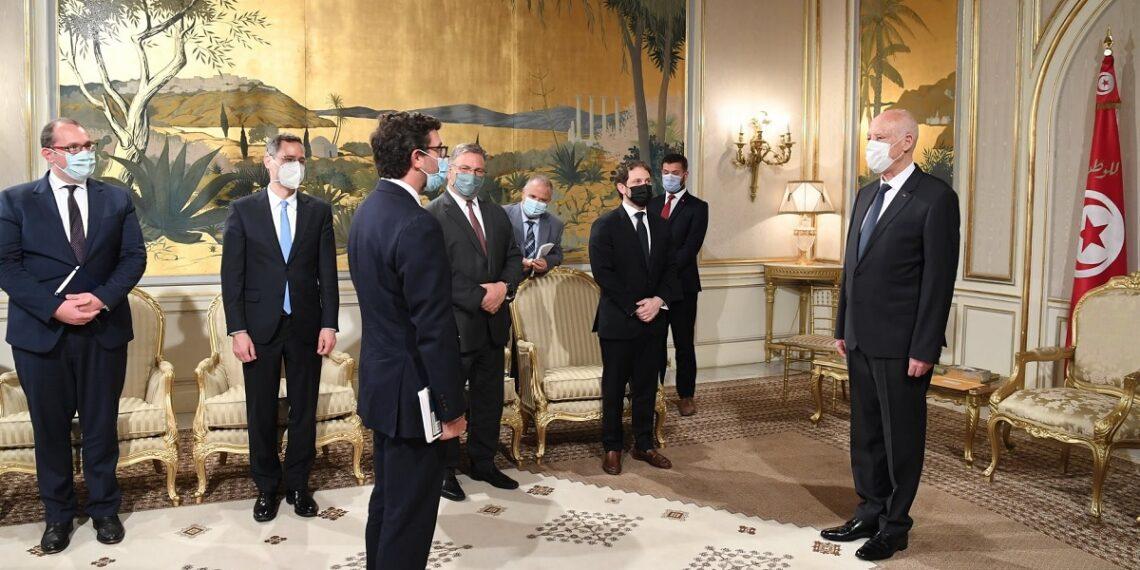 ماذا في لقاء قيس سعيّد بوفد رسمي أمريكي؟