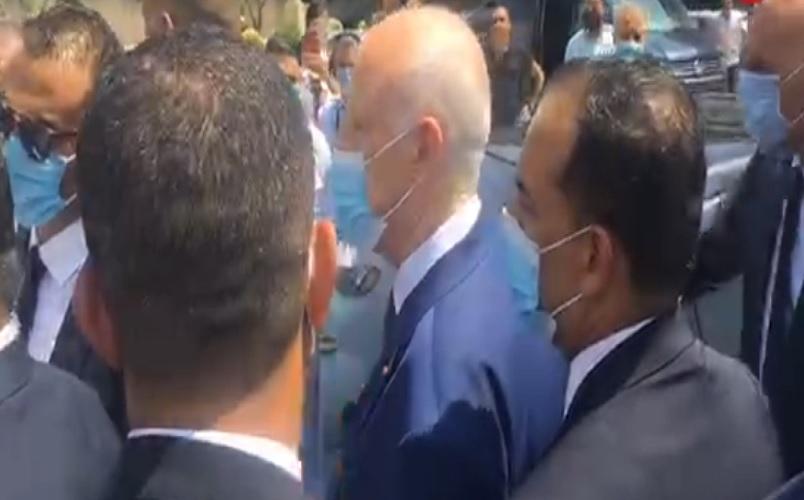 رئيس الجمهورية في زيارة فجئيّة إلى مطار تونس قرطاج