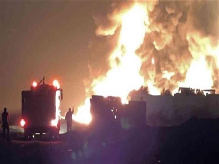مقتل 22 شخصا في انفجار خزان وقود في شمال لبنان