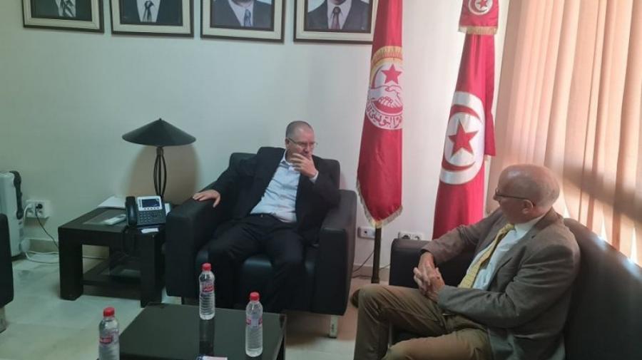 فحوى لقاء نور الدين الطبوبي بسفير الاتحاد الاوروبي