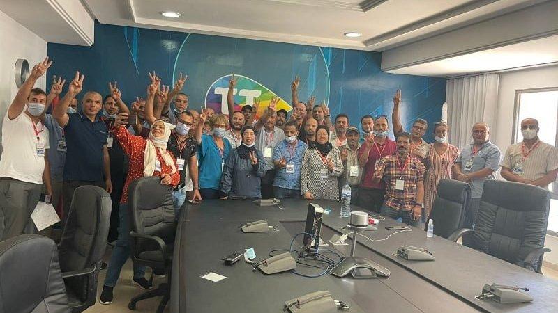 اعتصام مفتوح في مجمع اتصالات تونس