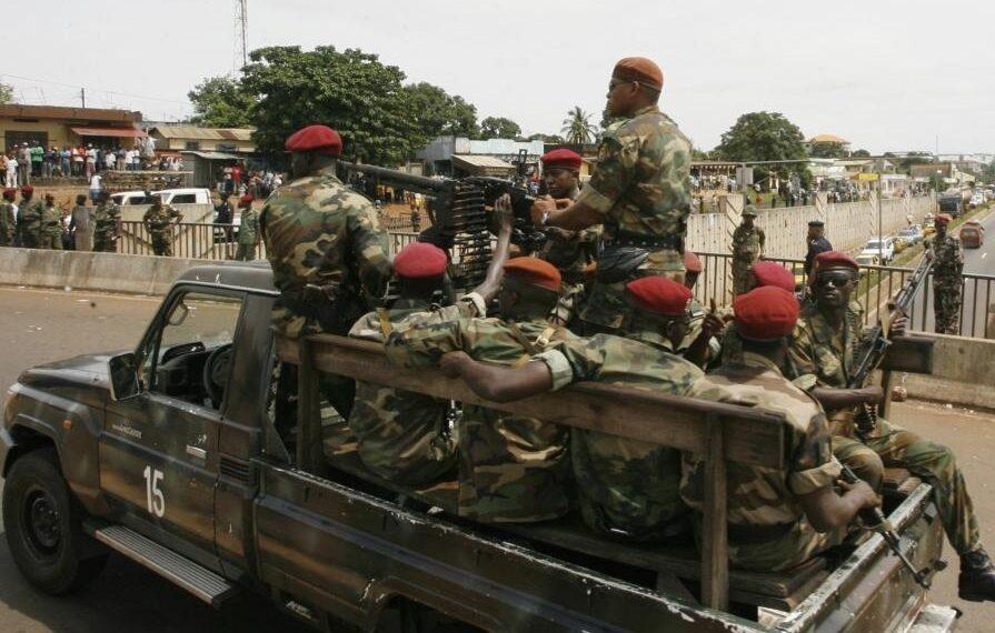 انقلاب عسكري في غينيا