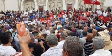 العاصمة: وقفة احتجاجية تنديدا بإجراءات 25 جويلية