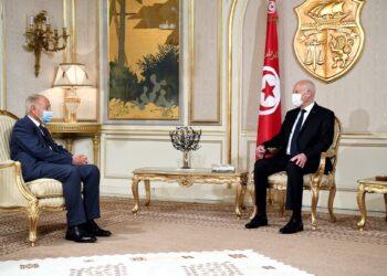 قيس سعيّد يستقبل الأمين العام لجامعة الدول العربية