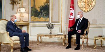 في لقائه مع أبو الغيط: رئيس الجمهورية يؤكد رفض تونس لكل أشكال الوصاية