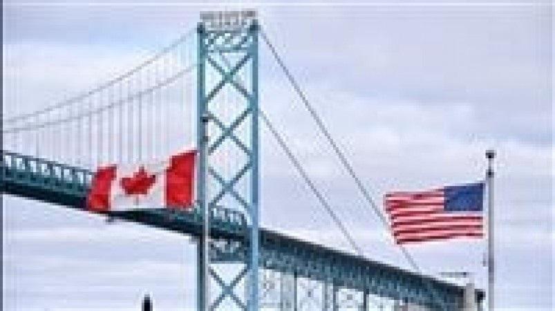 إغلاق جسر بين كندا والولايات المتحدة بسبب وجود محتمل لمتفجرات