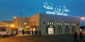 مطار توزر يستقبل أول رحلة داخلية