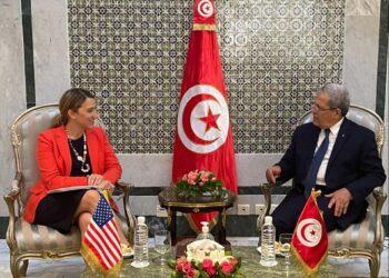 الجرندي خلال لقاء مسؤولة أمريكية: رئيس الدولة سيعلن عن خطوات تطمئن شُركاء تونس