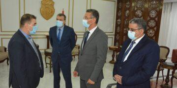 وزير الداخلية في زيارة تفقدية إلى مطار قرطاج