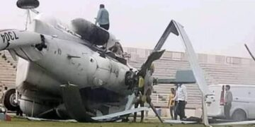 سقوط طائرة تحمل أموالا في ترهونة الليبية