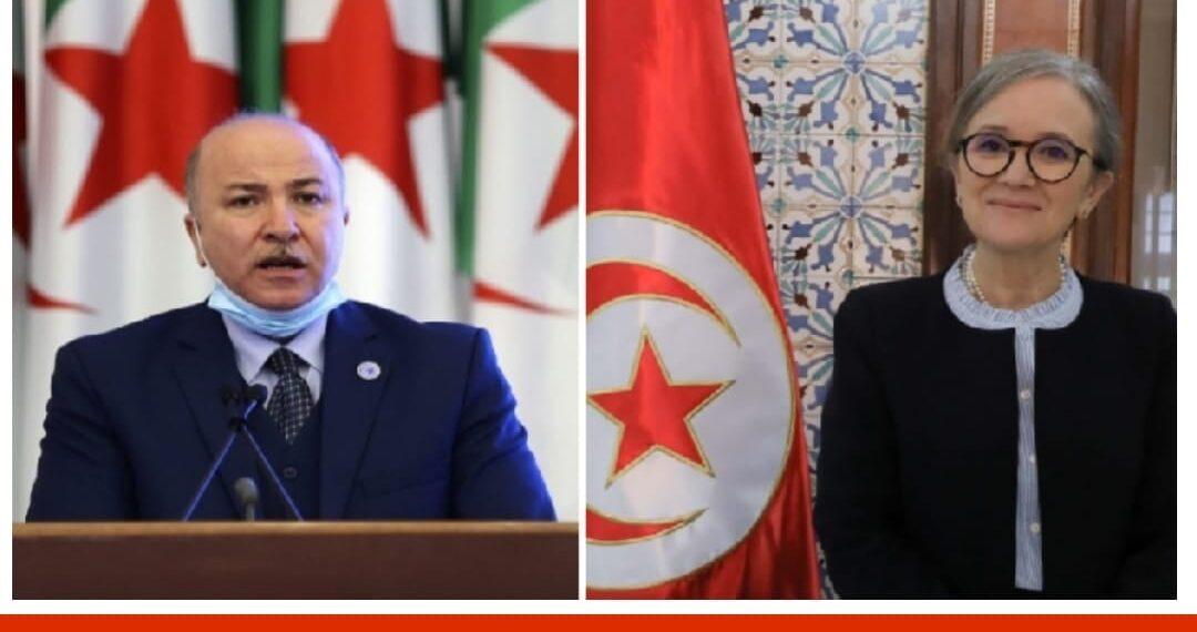 الوزير الأول الجزائري يهنئ نجلاء بودن بتوليها منصب رئاسة الحكومة